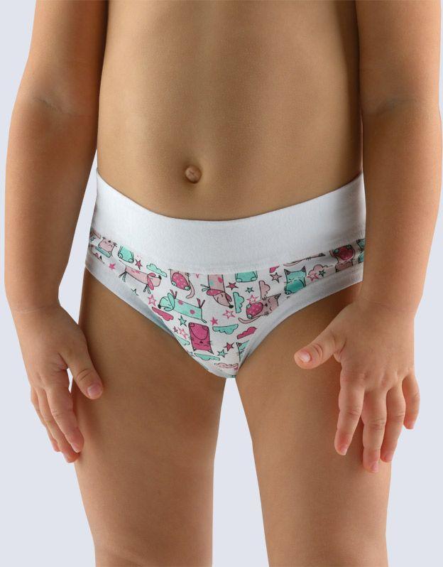 dětské kalhotky klasické dívčí 20015P GINA