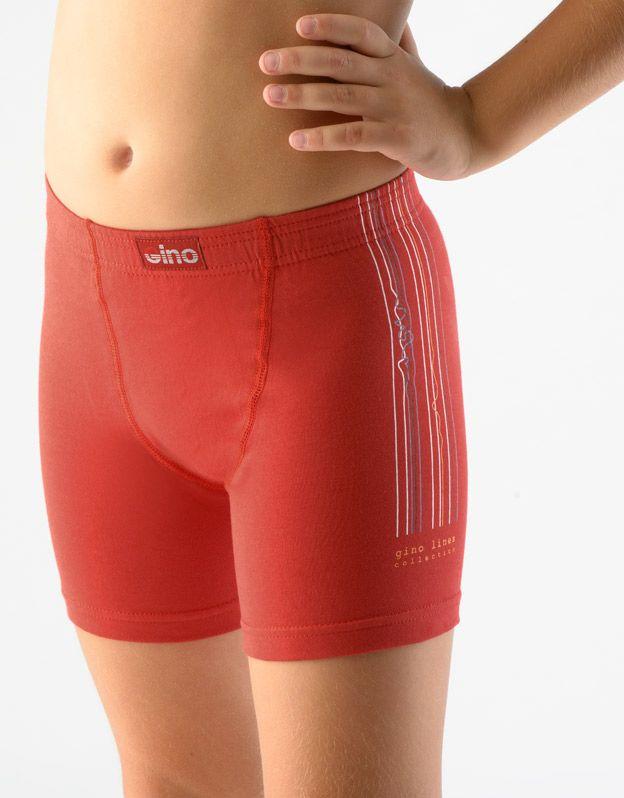 dětské boxerky s delší nohavičkou chlapecké 64000P GINA