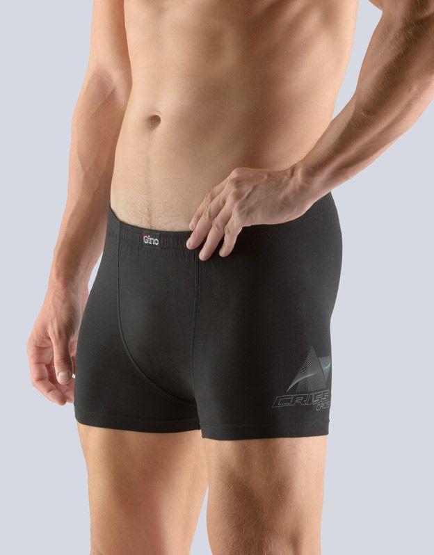 pánské boxerky s kratší nohavičkou 73083P GINA