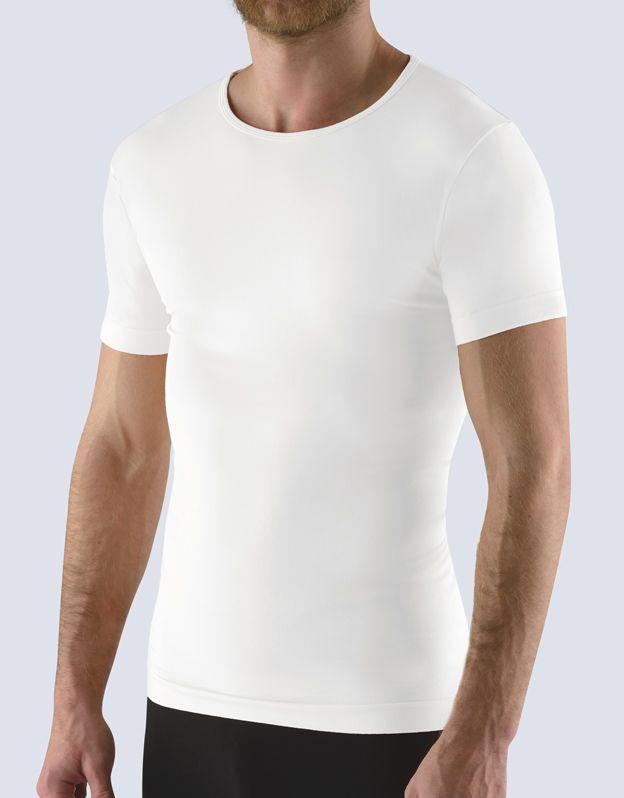tričko s krátkým rukávem bezešvé bamboo soft 58009P GINA