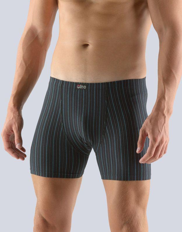 pánské boxerky s delší nohavičkou 74111P GINA