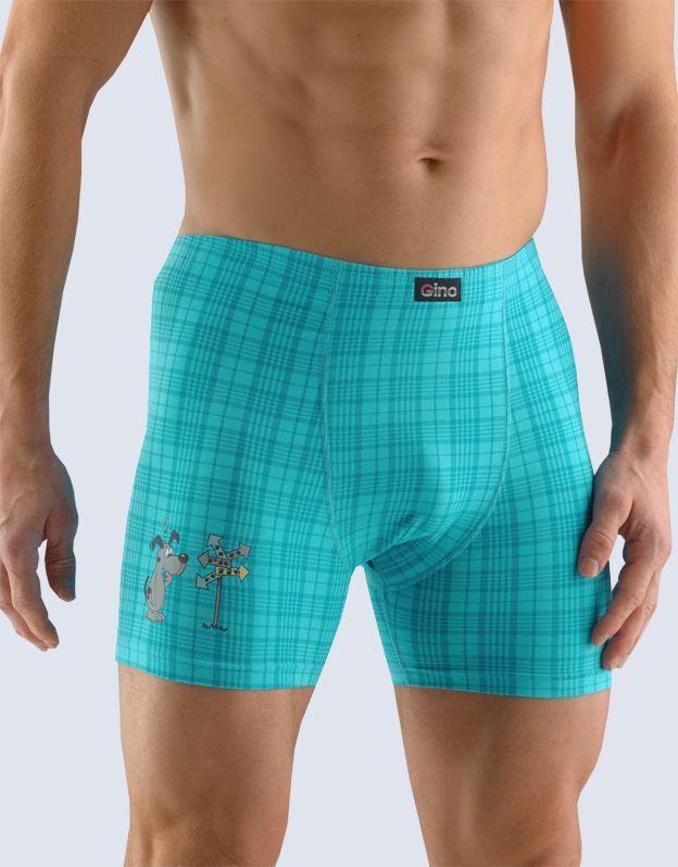 pánské boxerky s delší nohavičkou 74097P GINA