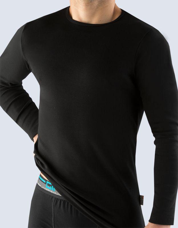 pánské tričko s dlouhým rukávem 78003P GINA