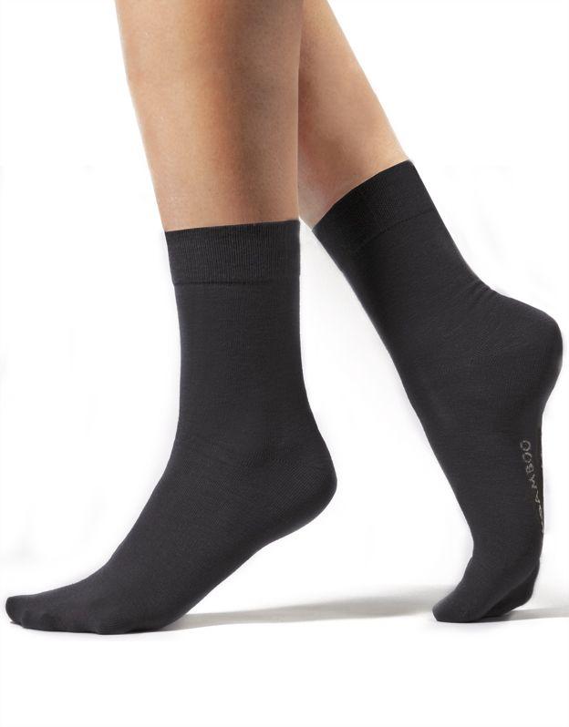ponožky klasické bambusky bezešvé 82003P GINA