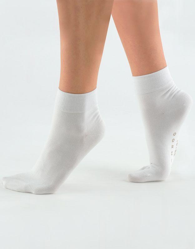 ponožky střední bambusky bezešvé 82004P GINA