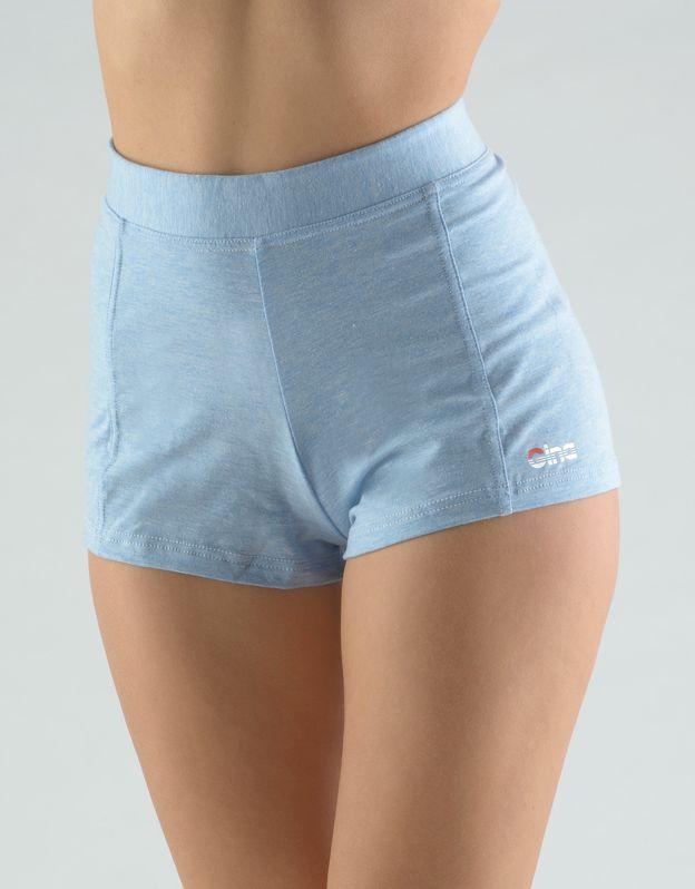 GINA dámské šortky krátké, šité, klasické, jednobarevné 93002P