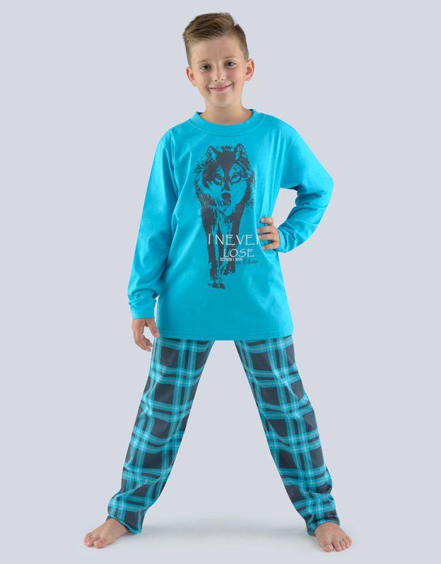 dětské pyžamo dlouhé chlapecké 79057P GINA