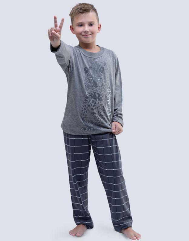 dětské pyžamo dlouhé chlapecké 79051P GINA