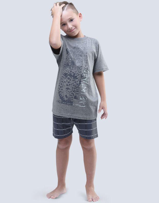 dětské pyžamo krátké chlapecké 79052P GINA