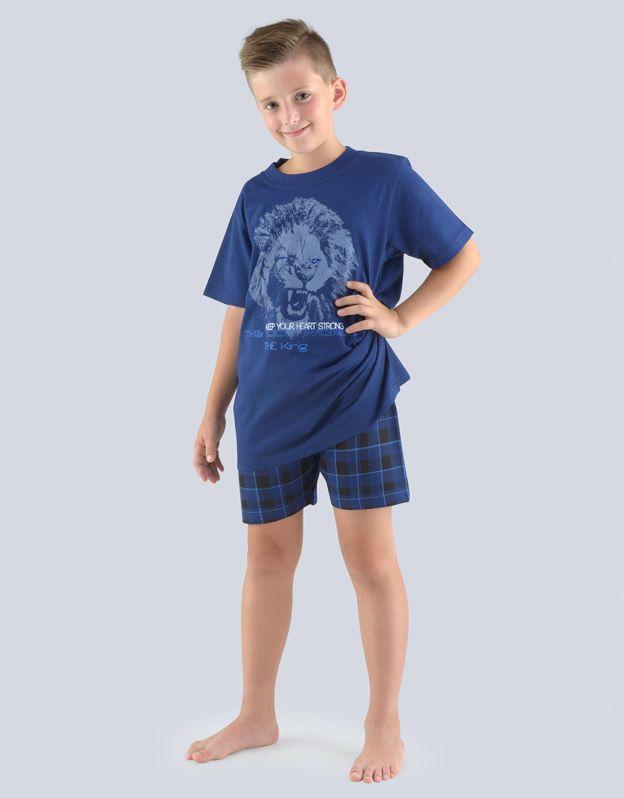 dětské pyžamo krátké chlapecké 79062P GINA