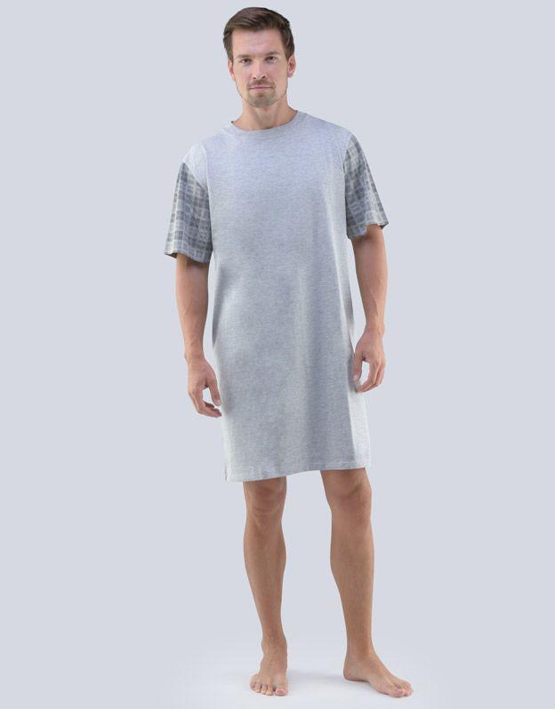pánské košile noční pánská krátký rukáv 79068P GINA