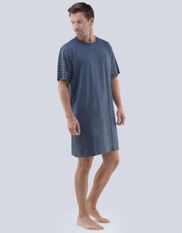 pánské košile noční pánská krátký rukáv 79058P GINA