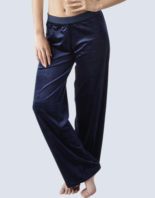 dámské kalhoty dlouhé rovné základní délka 96084P GINA