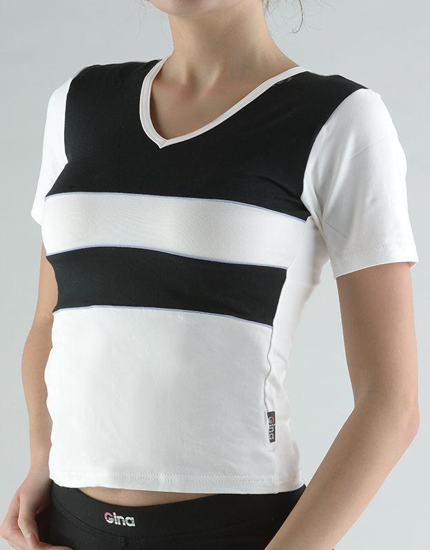dámské tričko s krátkým rukávem 98003P GINA