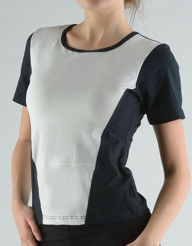 dámské tričko s krátkým rukávem 98040P GINA