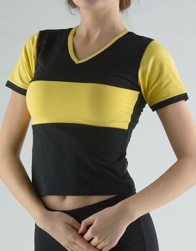 dámské tričko s krátkým rukávem 98014P GINA