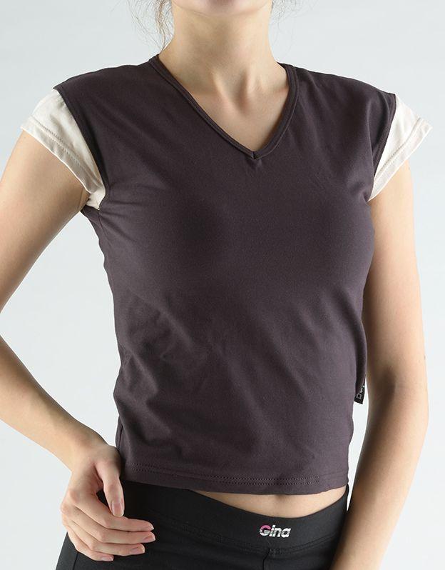 dámské tričko s krátkým rukávem 98010P GINA