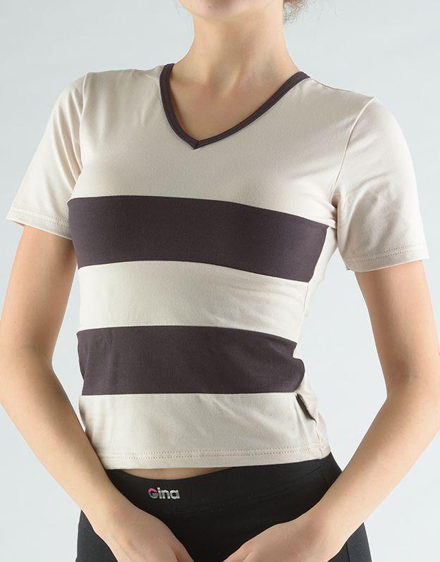 dámské tričko s krátkým rukávem 98020P GINA