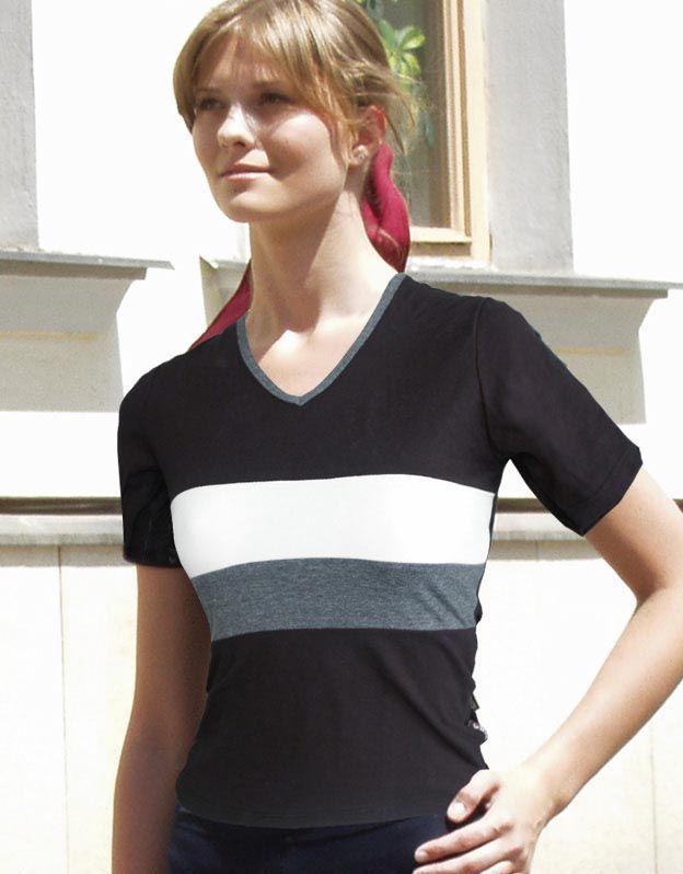 dámské tričko s krátkým rukávem 98069P GINA