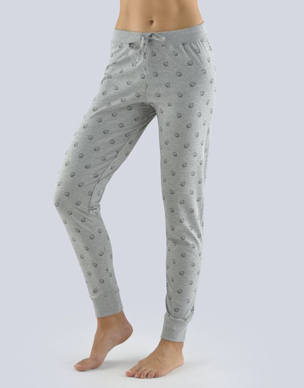 dámské kalhoty dlouhé pyžamové dámské 19083P GINA