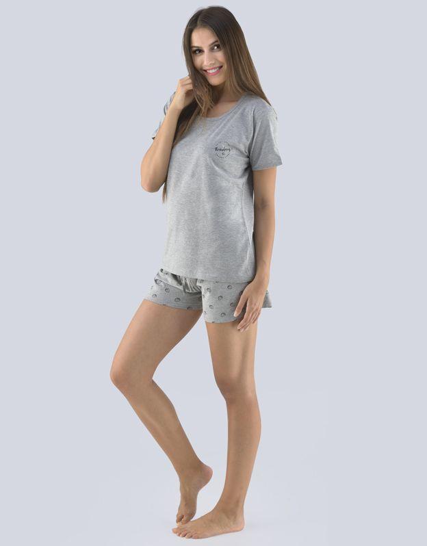 dámské pyžamo krátké dámské 19074P GINA