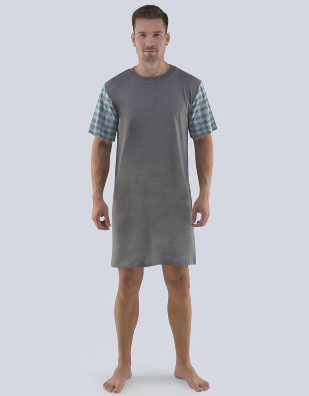 pánské košile noční pánská krátký rukáv 79086P GINA