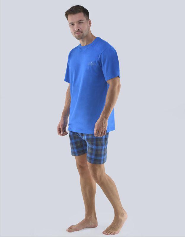pánské pyžamo krátké pánské 79072P GINA