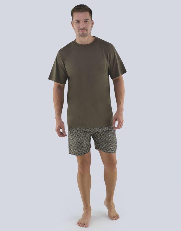 pánské pyžamo krátké pánské 79082P GINA
