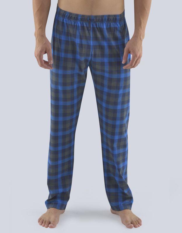 pánské kalhoty dlouhé pyžamové pánské 79083P GINA