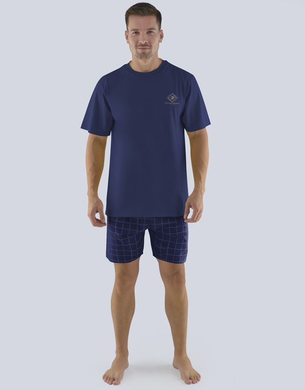 pánské pyžamo krátké pánské 79080P GINA
