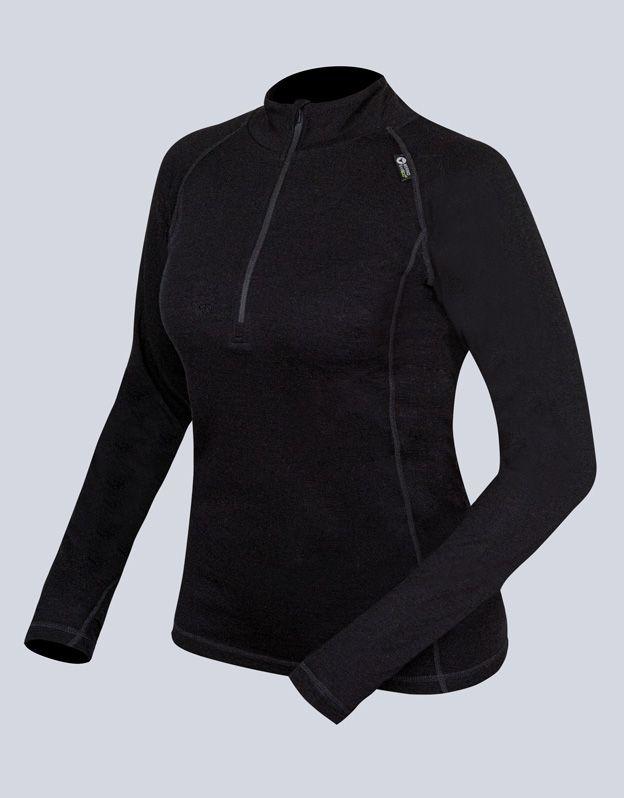 dámské triko se zipem s dlouhým rukávem dámské 88015P GINA