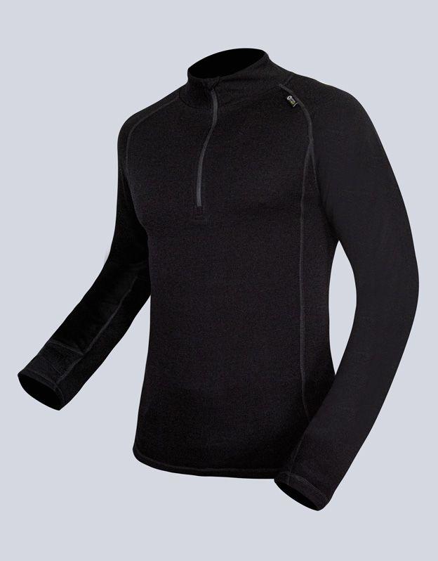 pánské triko se zipem s dlouhým rukávem pánské 88016P GINA