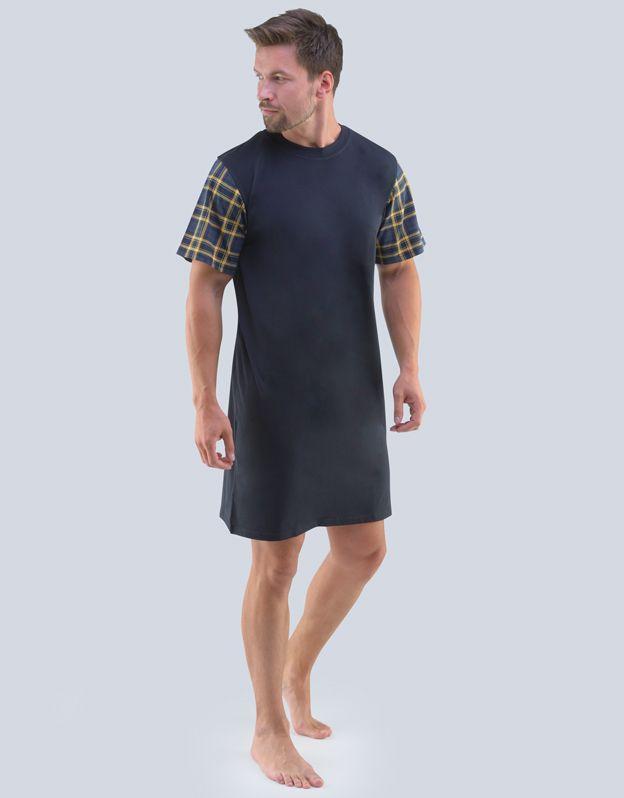 pánské košile noční pánská krátký rukáv 79088P GINA