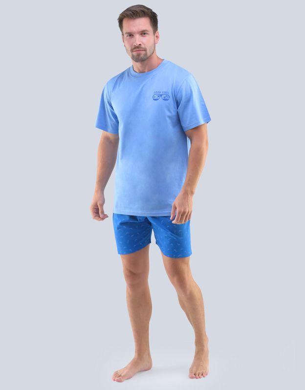 pánské pyžamo krátké pánské 79094P GINA