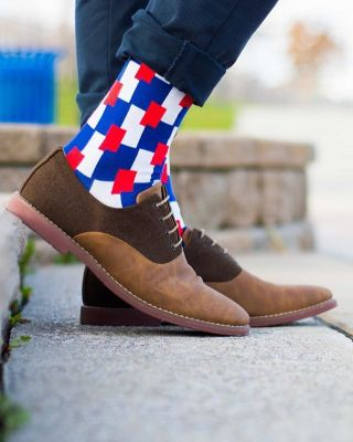 0147 CRAZY socks - unisex Poker