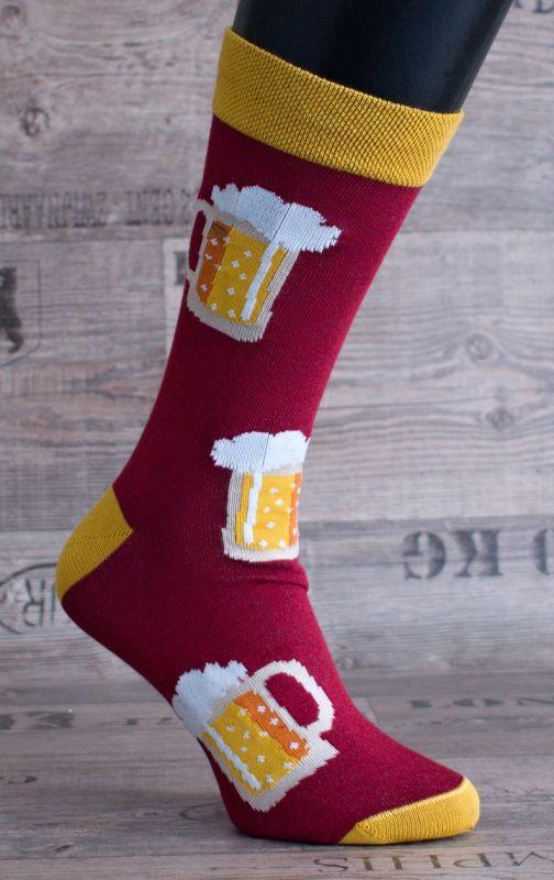 0263 CRAZY socks - pivo,nejsou skladem,na objednání TAPO-MAX s.r.o.