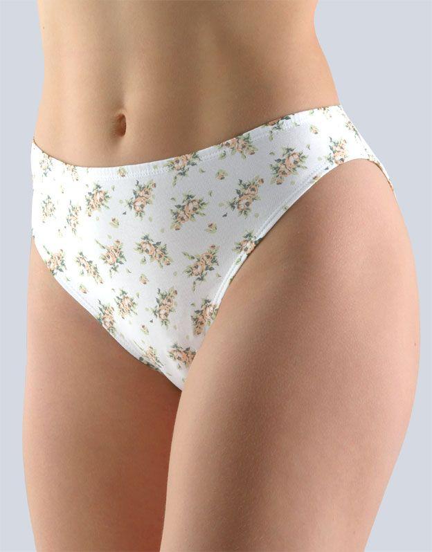 dámské kalhotky klasické s úzkým bokem 10193P GINA