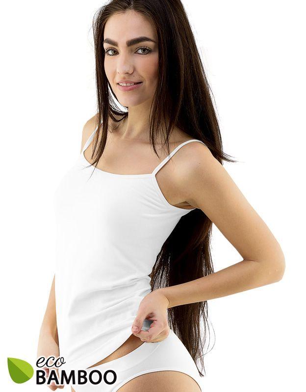 dámské košilka prodloužená eco bamboo 08026P GINA
