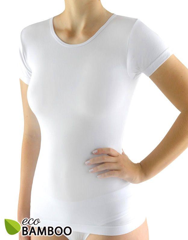 dámské tričko s krátkým rukávem eco bamboo 08027P GINA