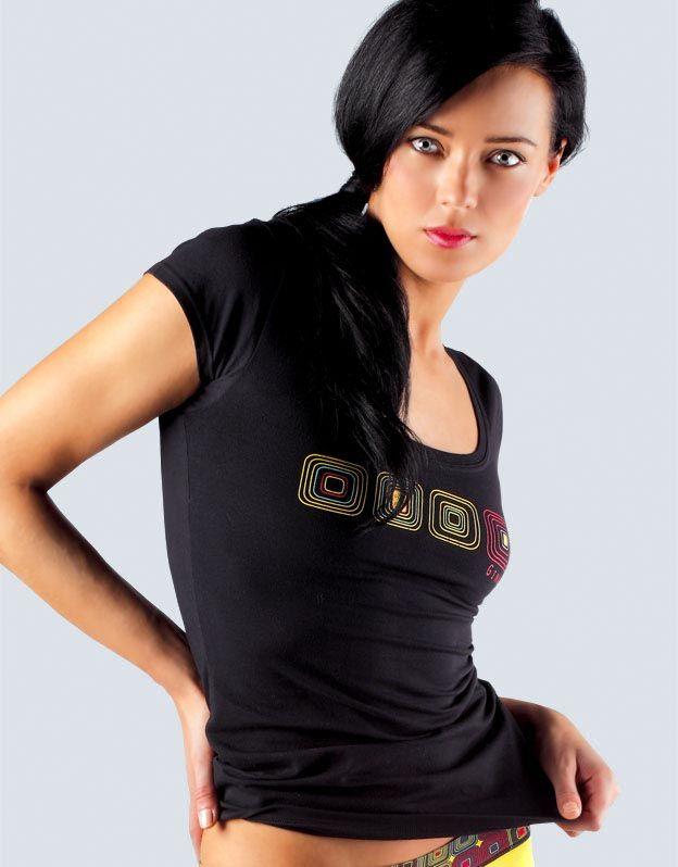 dámské tričko s krátkým rukávem 18038P GINA
