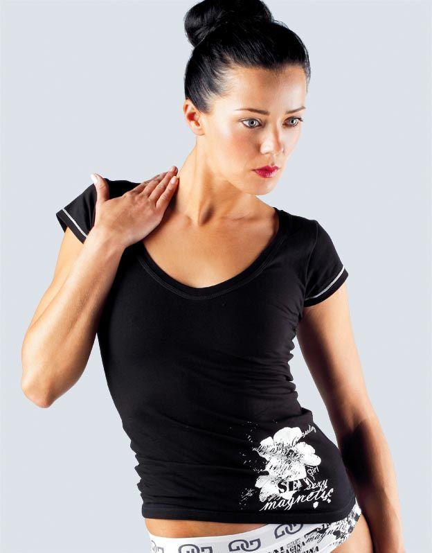 dámské tričko s krátkým rukávem 18035P GINA