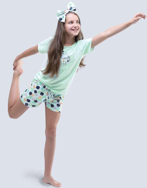 dětské pyžamo krátké dívčí 19048P GINA